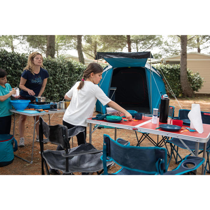 Hiker's camping stainless steel cook set MH100 2 people (1.6 L)