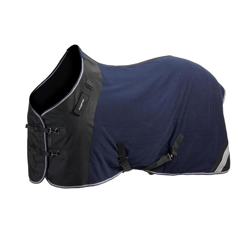 Coperta leggera pony e cavallo POLAR PERF blu