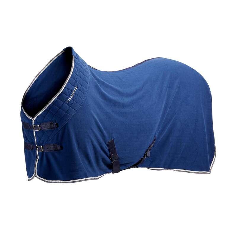 COPERTE IN PILE Equitazione - Coperta leggera POLAR 500  FOUGANZA - Scuderia e Paddock