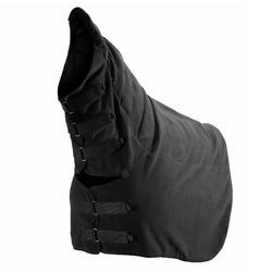 Halsstuk ruitersport paard fleece zwart