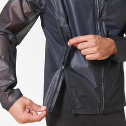 Regenjack voor hardlopen heren Kiprun Light zwart