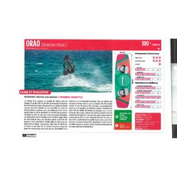 "Tabla de Kitesurf ORAO ""TWINTIP 500"" 136 X 40,5 cm Mujer Rosa"