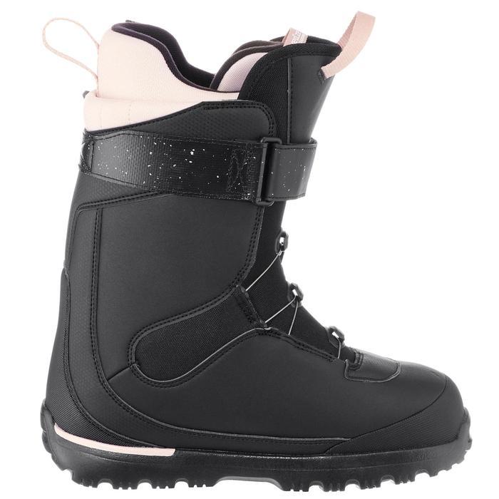 Chaussures de snowboard femme piste / Hors-piste, Serenity 500, noires