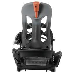 男款單板滑雪板固定器SNB 100 Click - 黑色