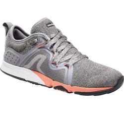 女款健走鞋PW 540 Flex-H+-灰色/粉紅色