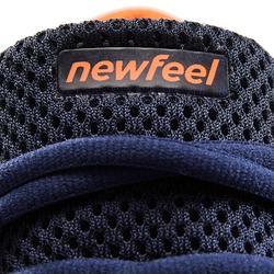 Chaussures de marche athlétique RW 500 bleues et orange