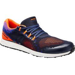 Snelwandelschoenen RW 500 blauw/oranje
