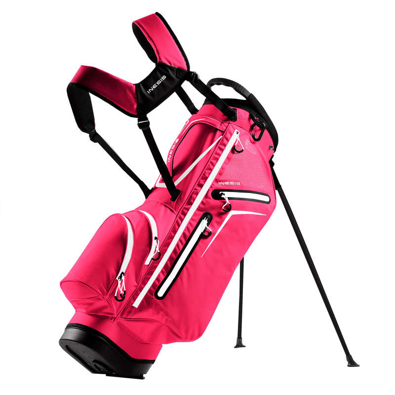 INTERMEDIATE & ADVANCED GOLF BAGS Golf - Light Stand Bag - Pink INESIS - Golf Bags