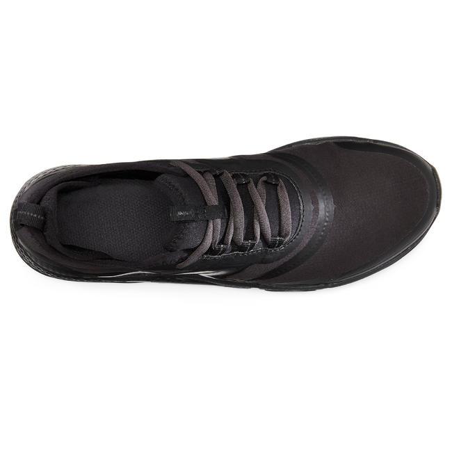 Women's Fitness Walking Shoes PW 580 WaterResist Full - Black