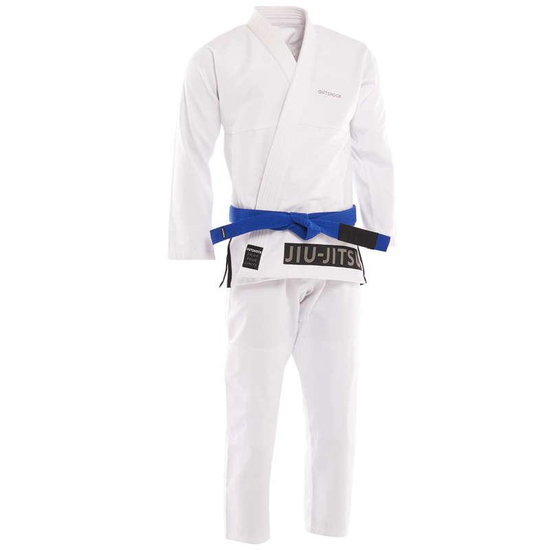 JIU JITSU - BJJ-K-100 Uniform H WHT OUTSHOCK