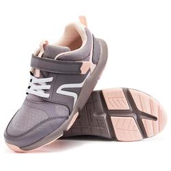 Sportschuhe Walking Actiwalk Kinder grau/rosa