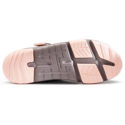 Chaussures marche enfant Actiwalk gris / rose