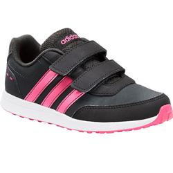 Sportschuhe Klettverschluss Switch Kinder grau/rosa