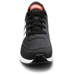 Wandelsneakers voor kinderen Switch veters zwart/wit