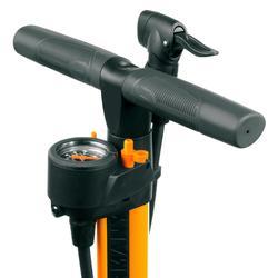 Bomba Pie Ciclismo Airworx 10.0 Naranja Con Manómetro