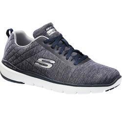 Zapatillas Caminar Skechers Equalizer 3.0 Hombre Azul