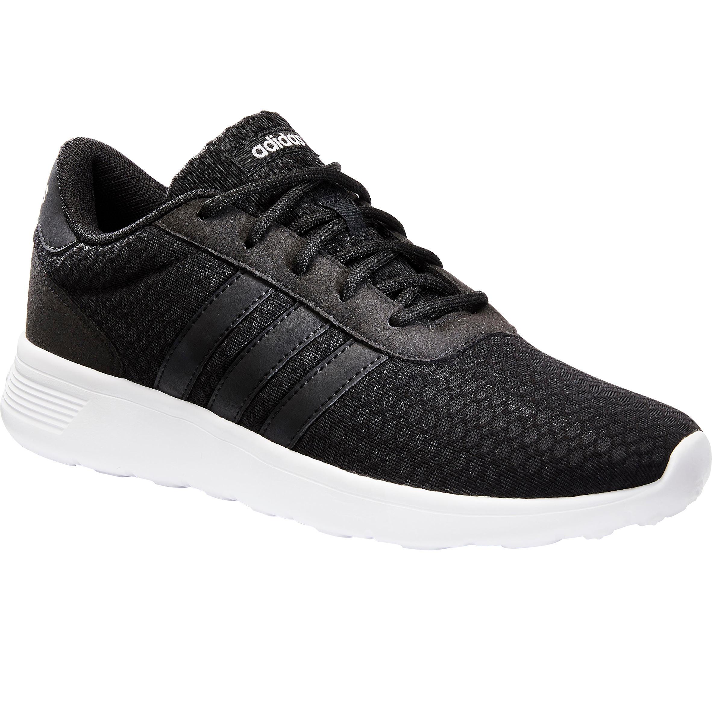 Chaussures marche sportive femme lite racer noir adidas