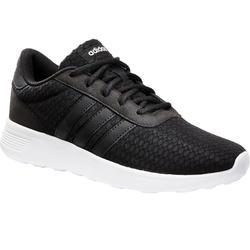 Damessneakers voor sportief wandelen Lite Racer zwart