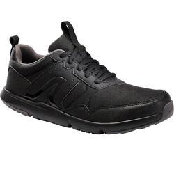 Herensneakers voor sportief wandelen Fitwalk Resist zwart