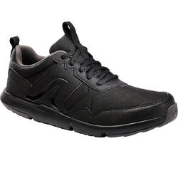 Walking Shoes for Men Fitness Walk resist- Black