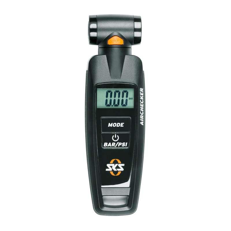 Kézi pumpák Kerékpározás - Digitális nyomásmérő SKS - Kerékpár kiegészítők