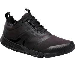 Zapatillas Caminar PW 580 WaterResist Hombre Negro