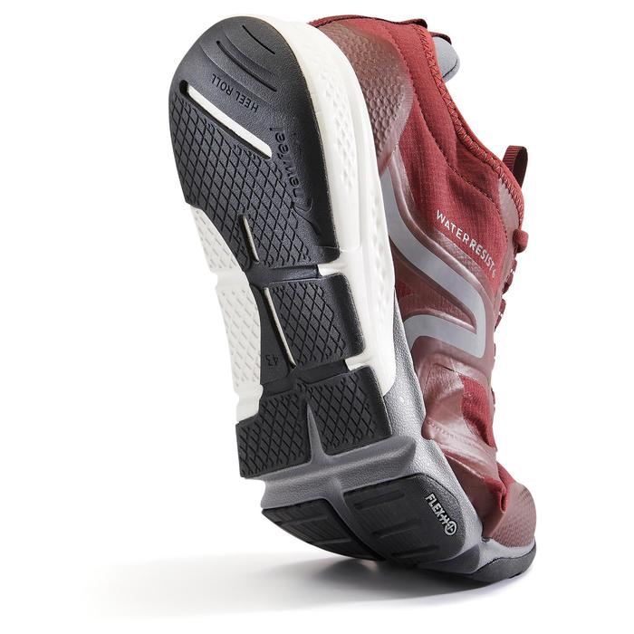 Chaussures marche sportive homme PW 580 WaterResist bordeaux