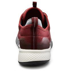 Herensneakers voor sportief wandelen PW 580 WaterResist bordeaux