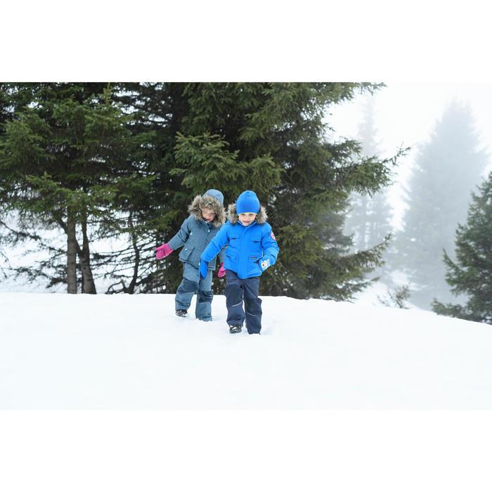 Warme en waterdichte wandelparka voor meisjes SH500 U-Warm 2-6 jaar