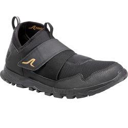 Ademende schoenen voor nordic walking NW 100 zwart