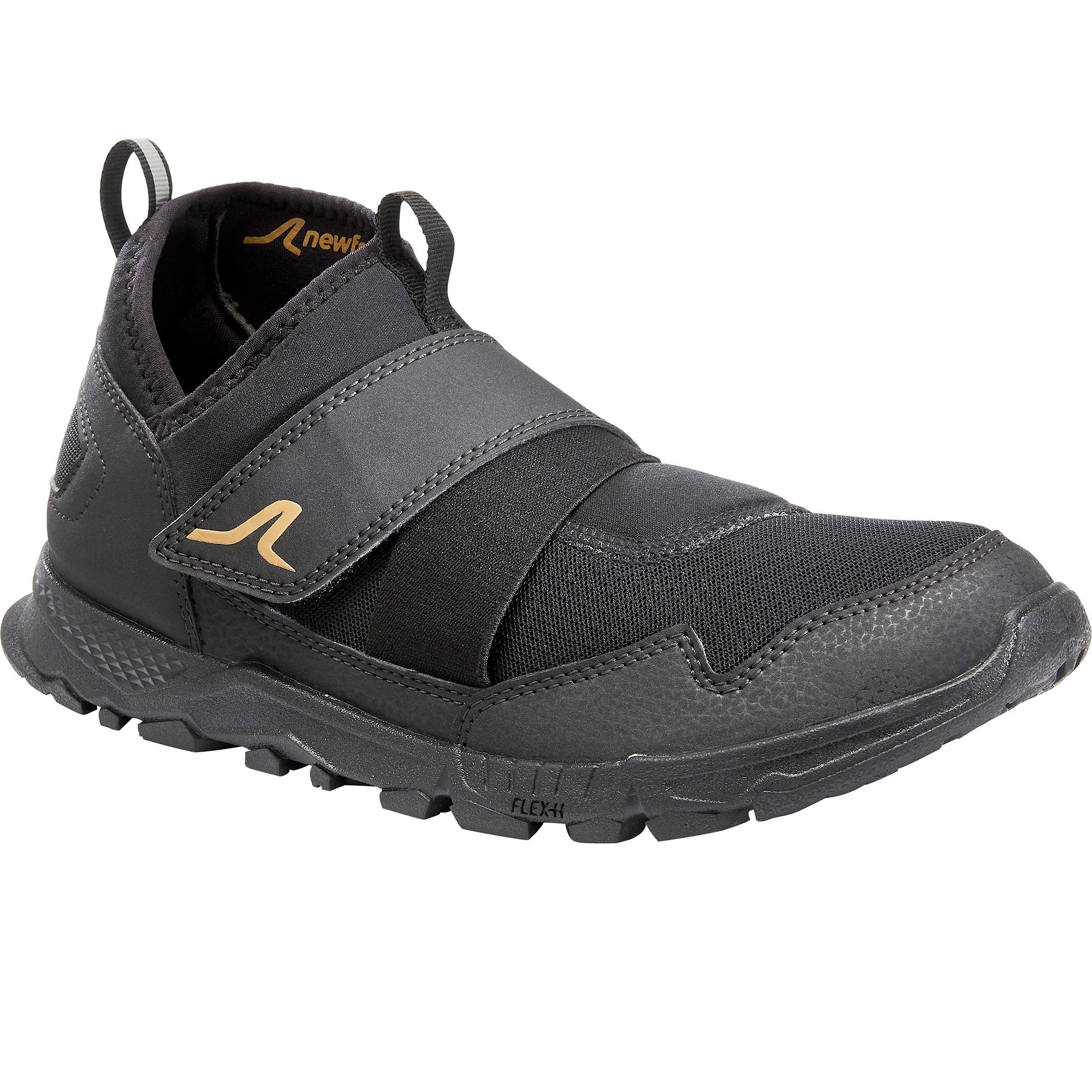 Nordic Walkingschuhe NW 100 schwarz | Schuhe > Sportschuhe > Walkingschuhe | Newfeel