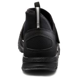 Nordic Walkingschuhe NW 100 schwarz
