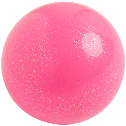 Ballon de Gymnastique Rythmique de 165 mm Rose Pailleté
