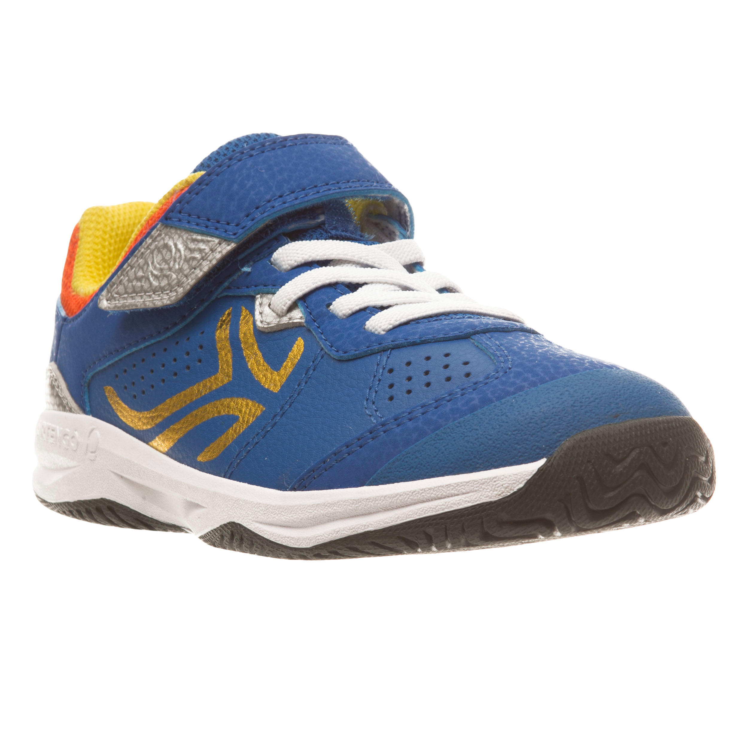 TS160 Kids Tennis Shoes - Rainbow Blue