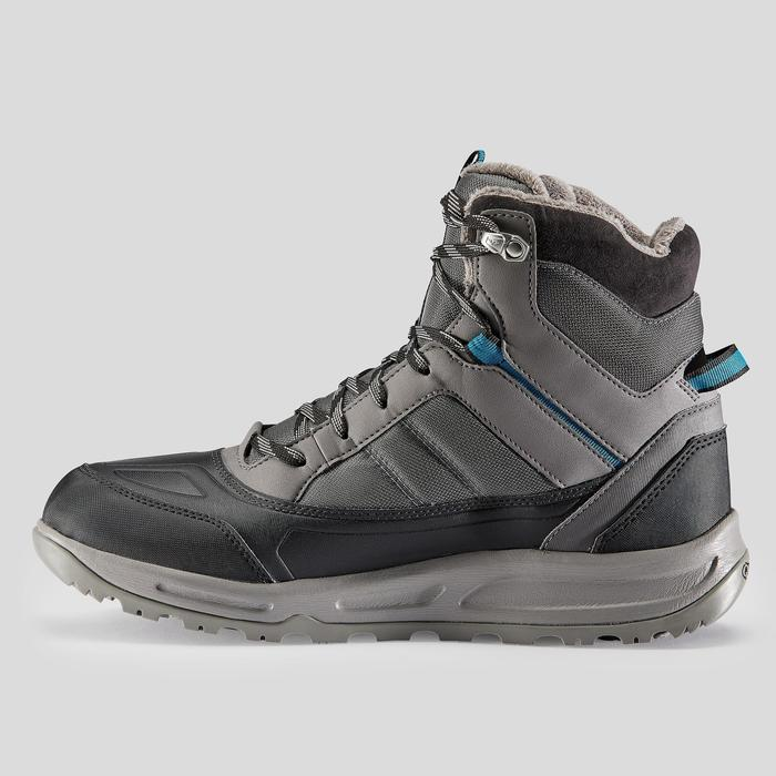 Wandelschoenen voor de sneeuw heren SH120 Warm mid grijs