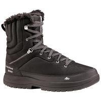 Men's High Hiking Snow Boots.SH100 - Black