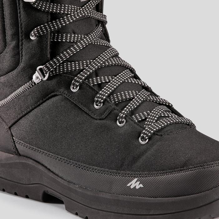 Man high hiking snow boots.SH100 - Black