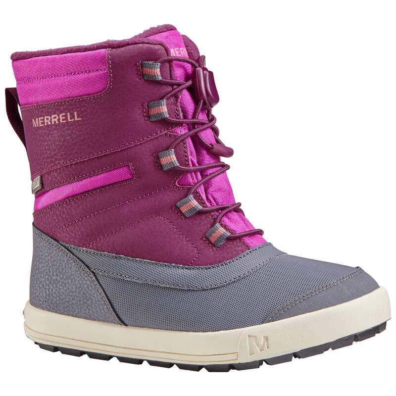 CHILDREN SNOW HIKING WARM SHOES & BOOTS Hiking - GIRLS' SNOWDRIFT MERRELL BOOTS MERRELL - Outdoor Shoes