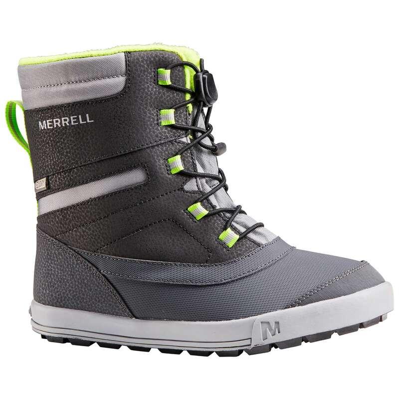 CHILDREN SNOW HIKING WARM SHOES & BOOTS - BOYS' SNOWDRIFT MERRELL BOOTS MERRELL