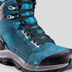 Snowboots heren SH520 X-warm mid blauw
