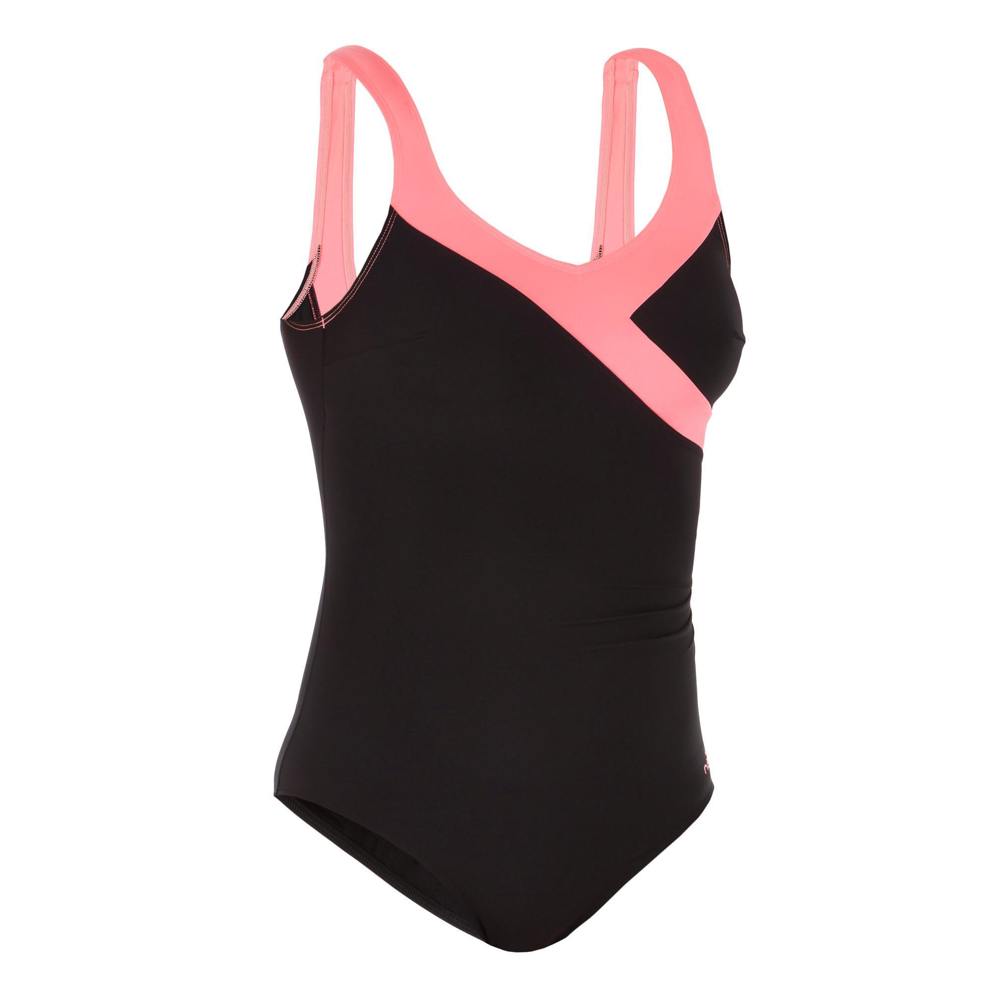 Badpak Extra Lang.Zwempakken Dames Decathlon