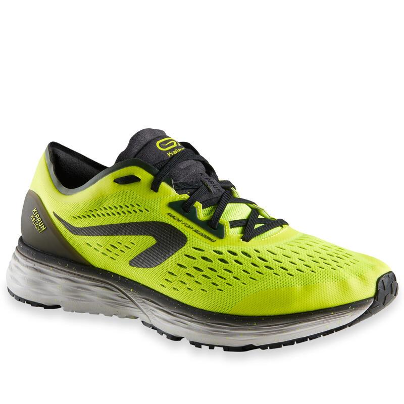 Pánské běžecké boty Kiprun KS Light černo-žluté