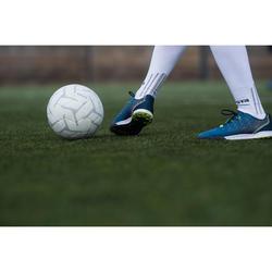 Ballon de Foot5 Society 100 taille 4 Blanc / Gris