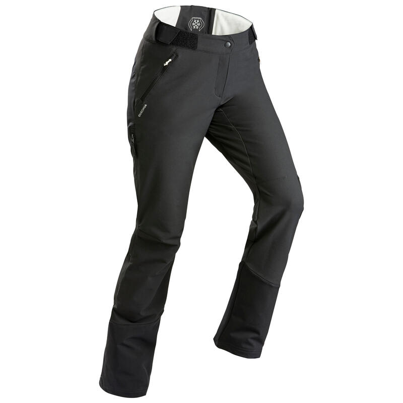 Waterafstotende, warme broek voor sneeuwwandelen Dames - SH520 X-WARM