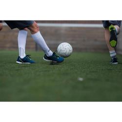 Voetbal voor 5 a side Society 100 maat 4 wit/grijs