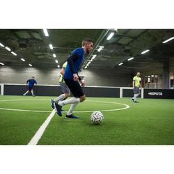 Voetbal 5-a-side, Society 500 maat 5 wit/zwart