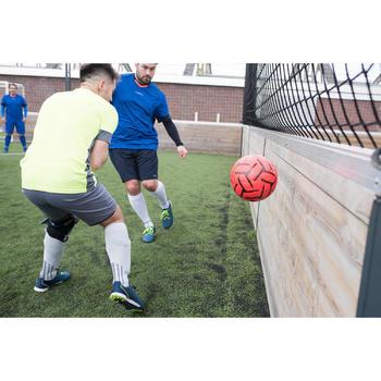 Society 500 5-A-Side Football Size 4 - Orange/Black