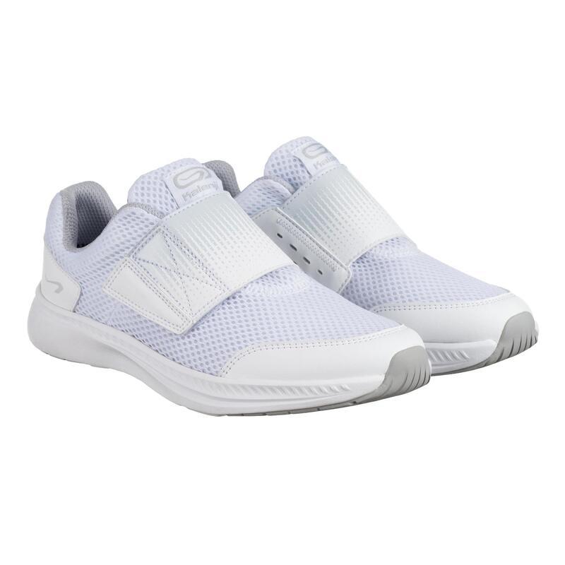 Çocuk Beyaz Koşu Ayakkabısı / Atletizm - ATHLETICS EASY