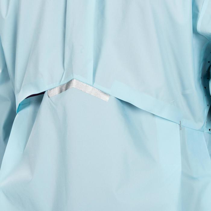 Girls' Athletics Rain Jacket - Ice Blue