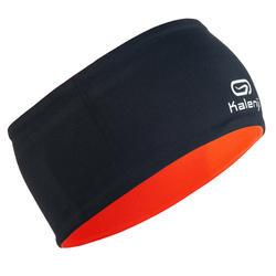 Cinta reversible Atletismo júnior gris naranja